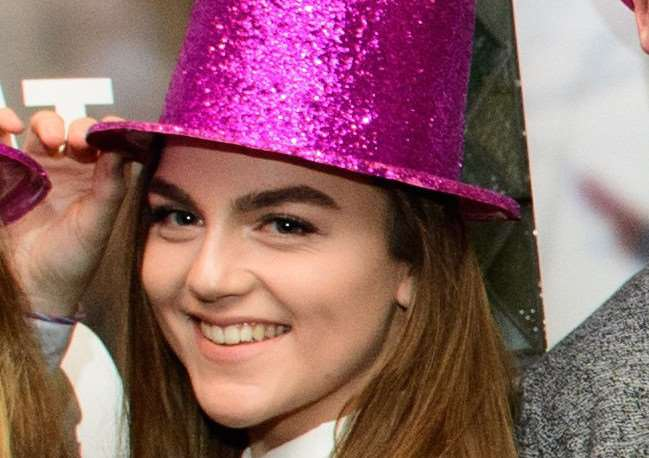 Daisy Shippey at the NCS EM1 autumn program graduation ceremony .'.''Picture: Chris Vaughan Photography