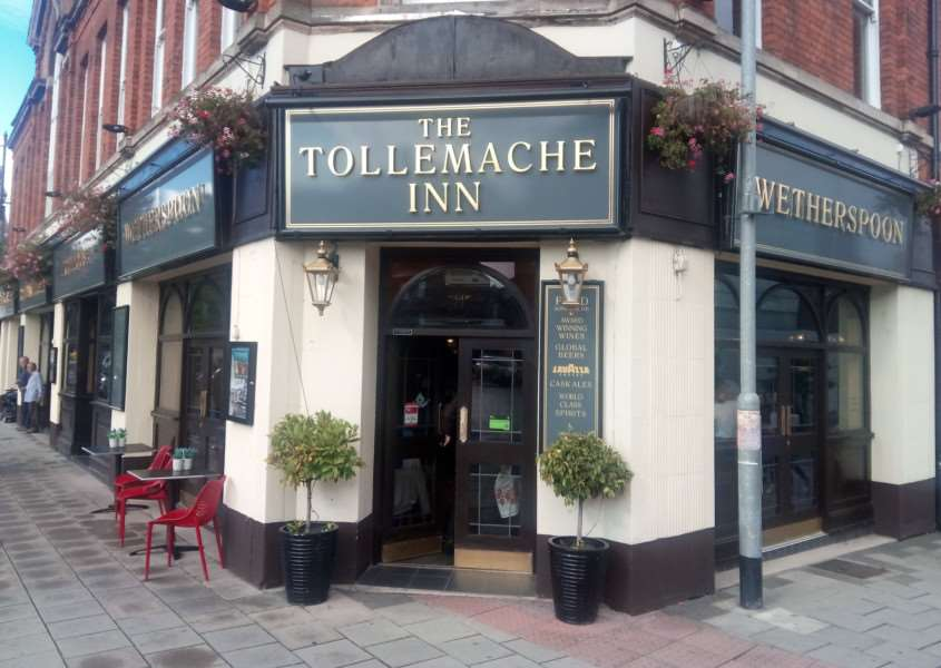 The Tollemache Inn in Grantham.