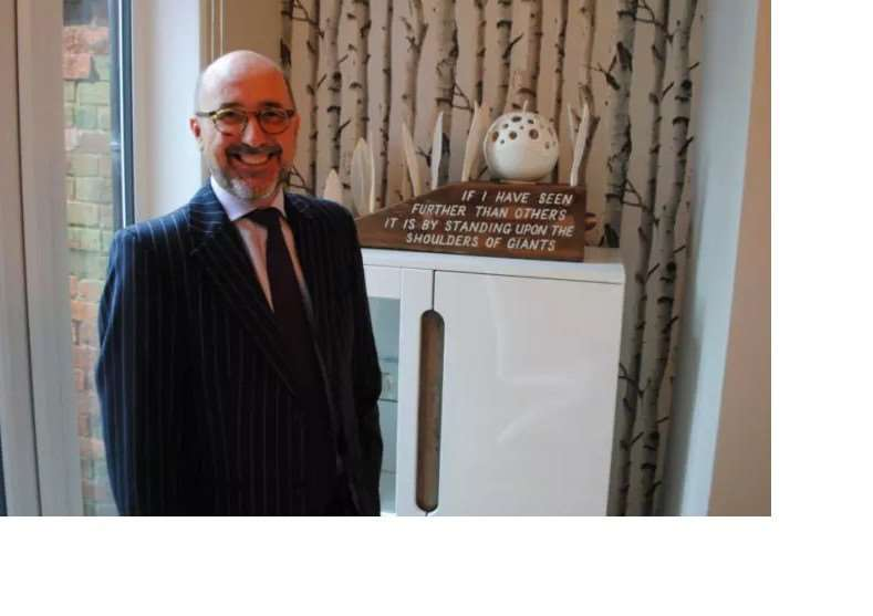 Chairman of Grantham Business Club Andrew Hodgson