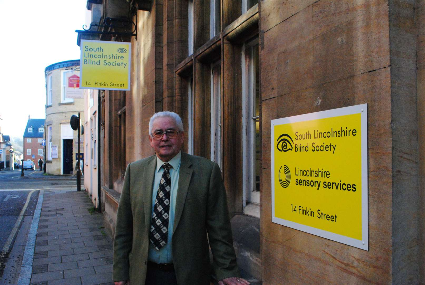 Malcolm Swinburn, chief executive of South Lincolnshire Blind Society, and new chairman of Grantham Business Club. (7468943)