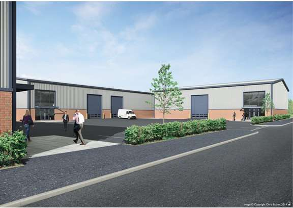 Autumn Trade Park in Dysart Road will be a home to Formula One Auto Centres and Toolstation branches.
