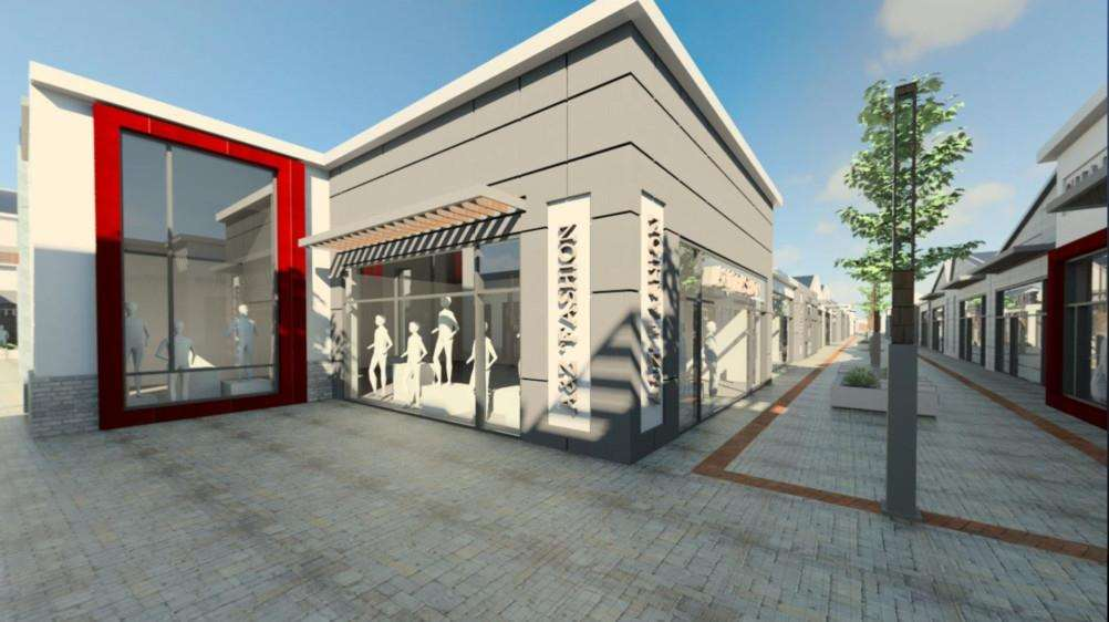 Downtown has submitted its plans for a �125 million designer outlet village on its Gonerby Moor site near Grantham.