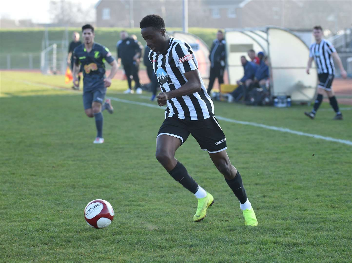 Jordan Adebayo-Smith gave the Gingerbreads the lead on Saturday. (8456283)