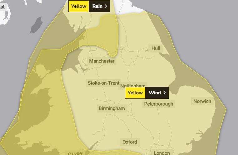 Storm Dennis: Grantham area braced for more wind as weather warning issued