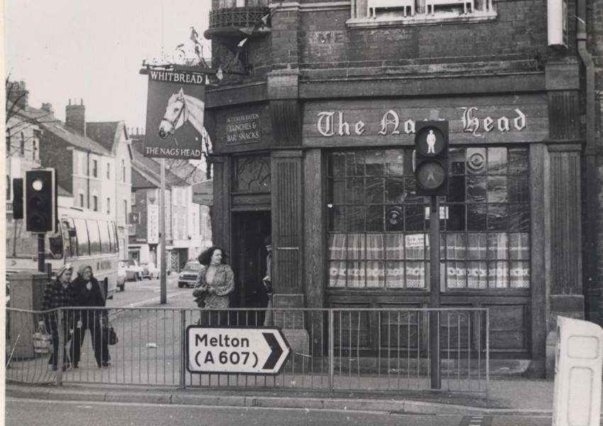 Photo of The Nag's Head on Wharf Road, courtesy of Terry Shelbourne.
