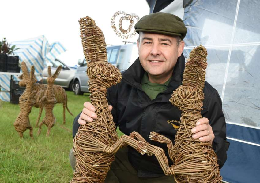 Harby Country Show: Pictured is Martin Keeley, of Rutland Willows