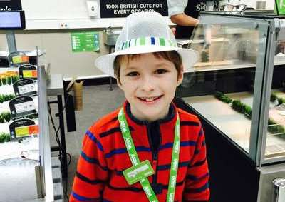 Stanley Jackson became the boss of Grantham's Asda for a day.