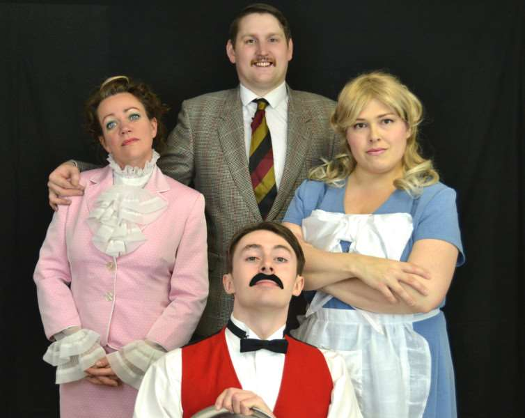 The cast of Fawlty Towers EMN-151118-094001001