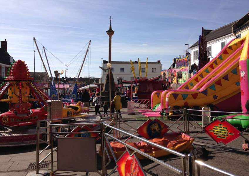 The mid-Lent fair as it is today.