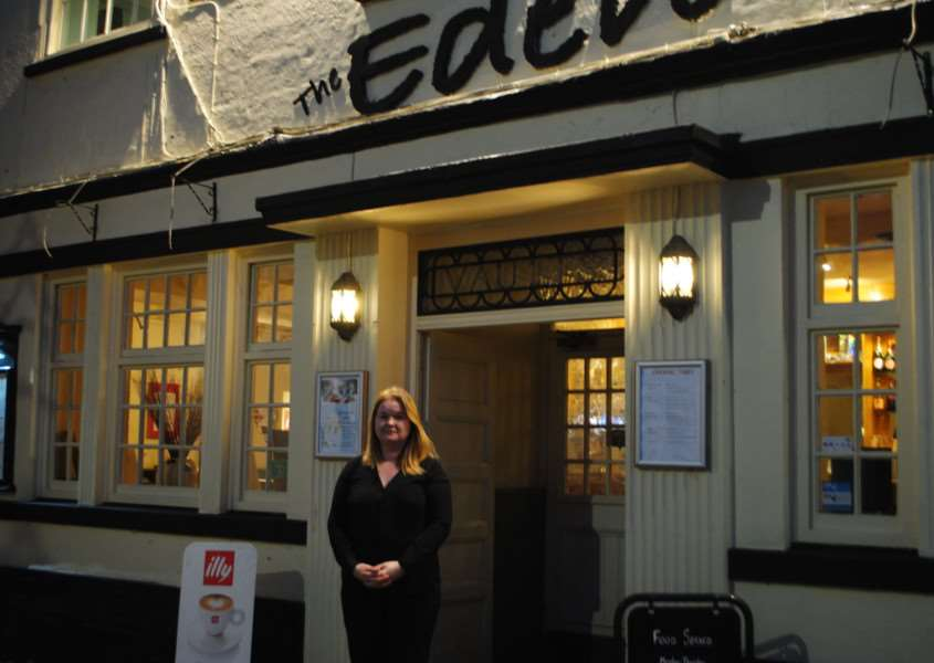 Eden Wine Bar manager Victoria Manley says that parking restrictions are deterring potential coach parties.