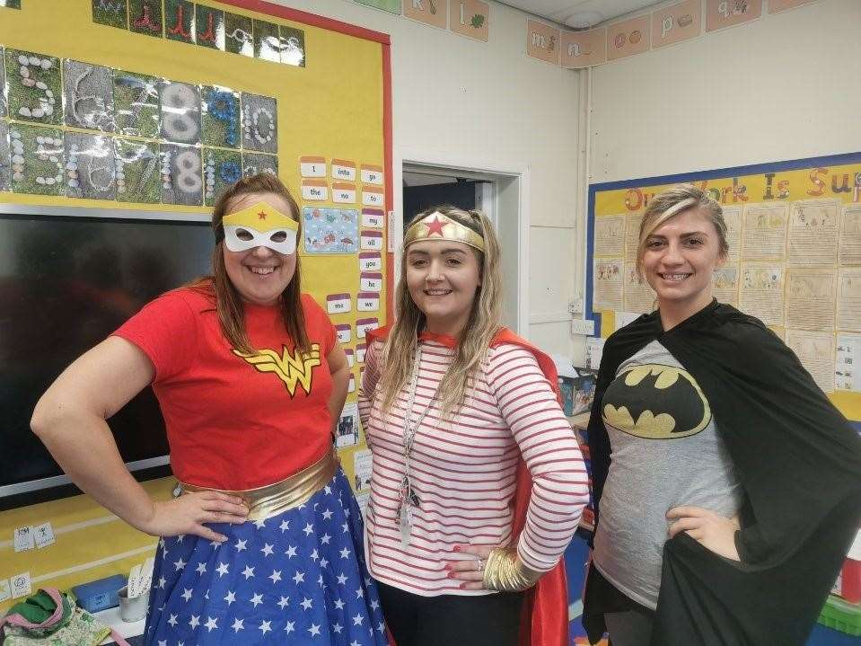 Superhero day at Belton Lane. (43517919)