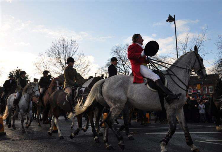 Mayor of Grantham will not greet Belvoir Hunt on Boxing Day