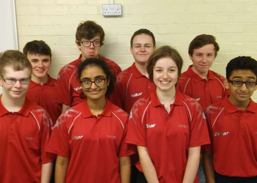 Chandlers NJL A and B teams are from left, back - Benjamin Rigby, Samuel Bailey, Ashley Willows and Thomas Ford; front - Trafford Mason, Divya Prabhu, Helen Turley and Viren Panchal.