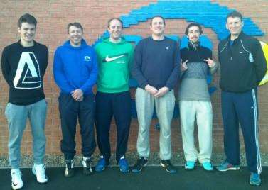 Promoted: Grantham Tennis Club men's first team.