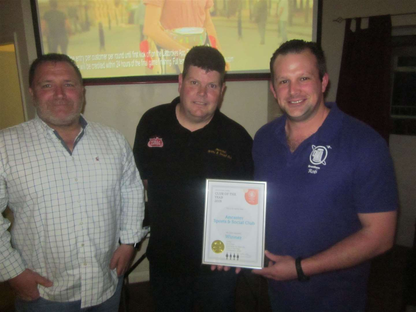 Andy Cullum, David Wrench and Rob Hamnett-Day, Grantham CAMRA (10351776)