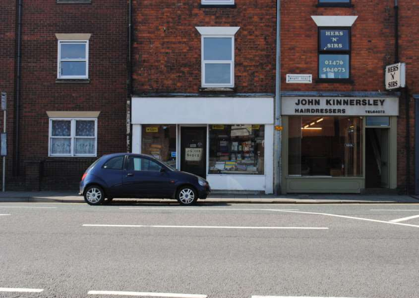 Open for business: J G Cox on Wharf Road has been trading for 25 years.