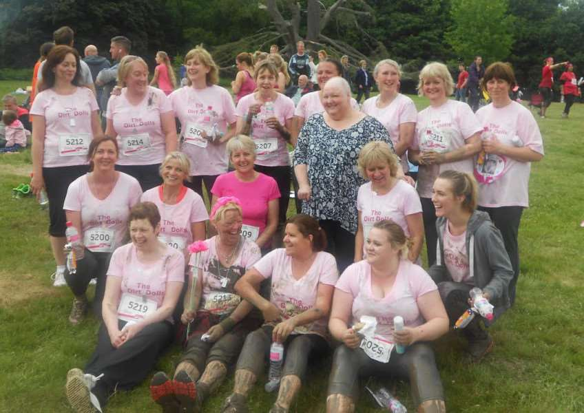Grantham College's 'The Dirt Dolls' preparing to get muddy at Clumber Park