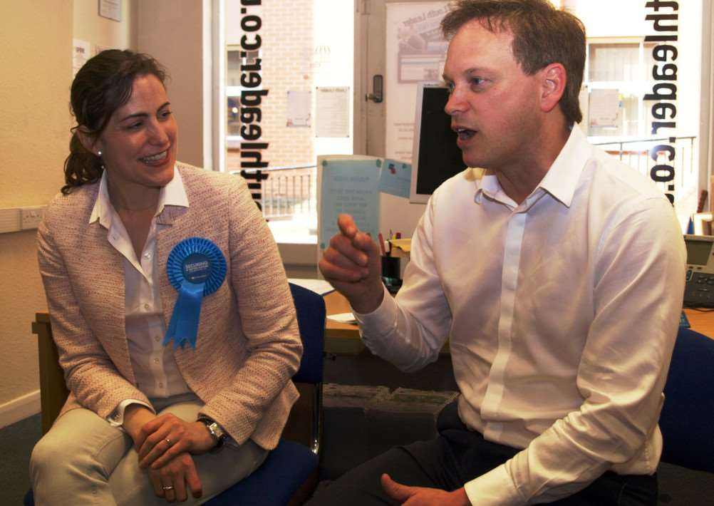 Victoria Atkins and Grant Shapps