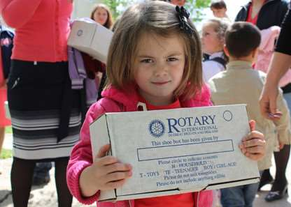 Support the Rotary International Shoebox Appeal