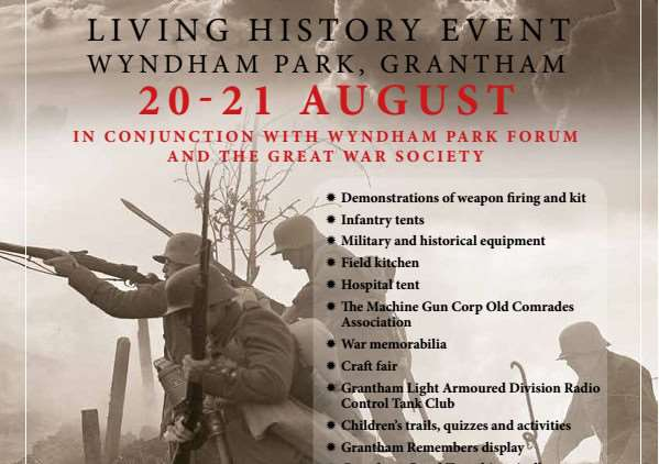 World War One Living History event at Wyndham Park.