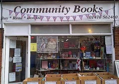 Community Books, Grantham