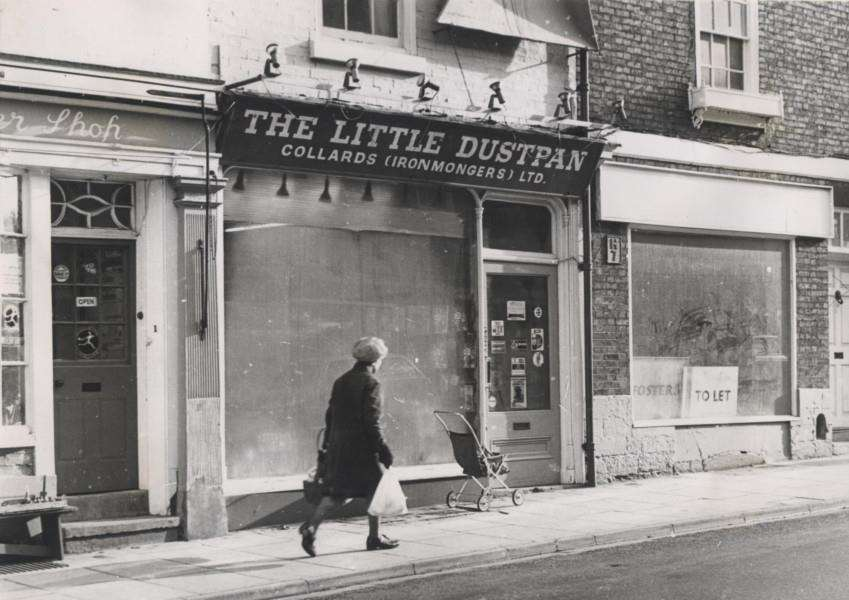 What are your memories of The Little Dustpan? Photo courtesy of Terry Shelbourne.