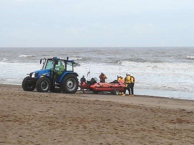 Robert Holland Funeral Directors have donated a lifeboat to RNLI Skegness and the wider RNLI. (22503076)