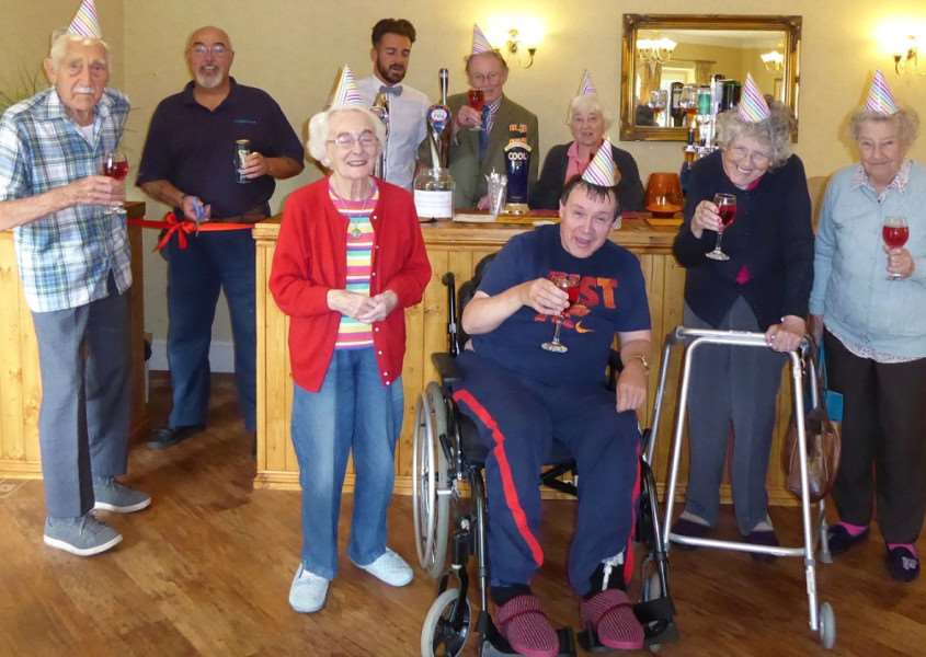 Avery Lodge Care Home bar opening