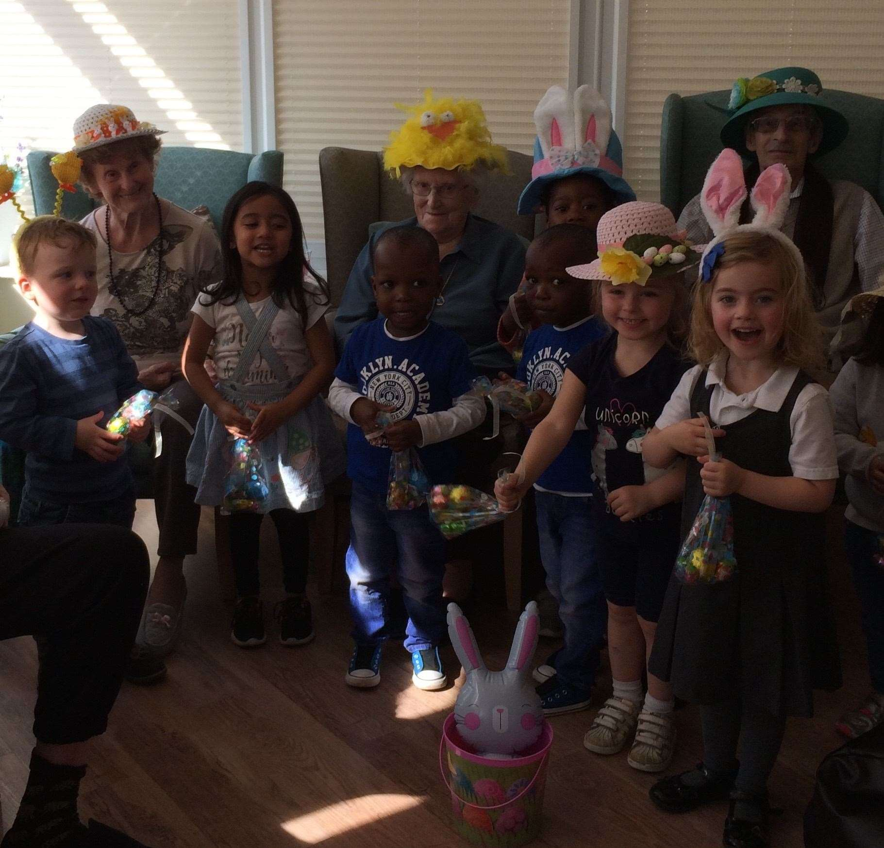 Easter-themed activities at Harrowby Lodge Nursing Home. (8632211)