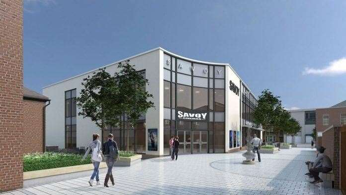 An artist's impression of the new Grantham Savoy cinema. (12079291)