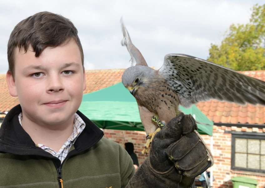 Will Conway and Mercury at the Grantham Canal Discovery Day