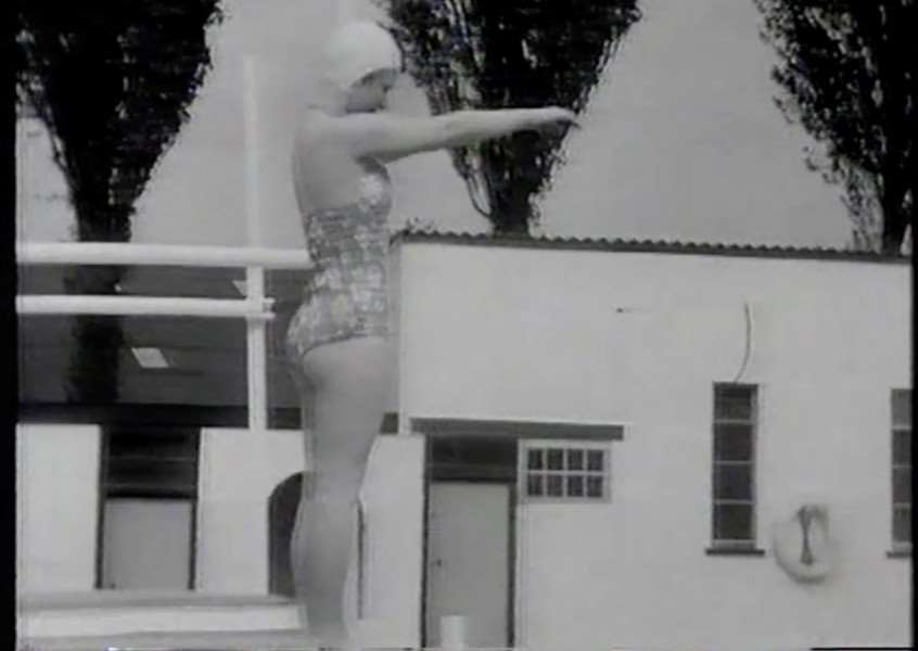 Wyndham Park swimming pool was featured in this film from the 1960s.