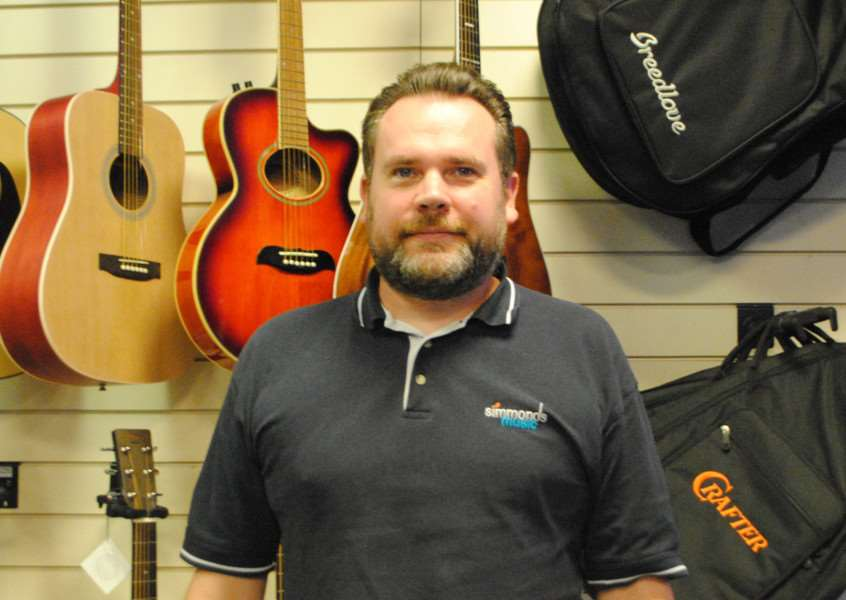 Thomas Simmonds from Simmonds Music