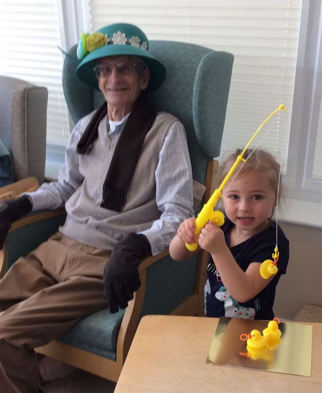 Easter-themed activities at Harrowby Lodge Nursing Home. (8632217)