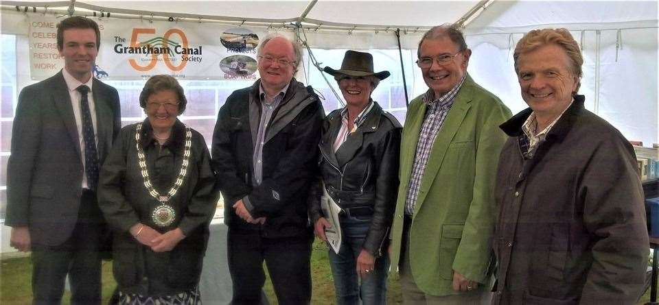 Grantham Canal Society celebrated their 50th anniversary at the weekend. (14613935)