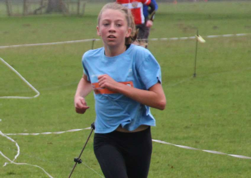 Second place at Belton House - Helen Braybrook.