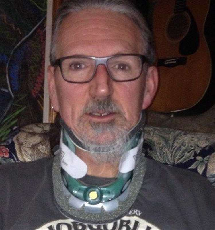 Darryl Cunnington's neck was fractured in an 'unprovoked attack' by Belvoir Hunt supporters. (14465047)
