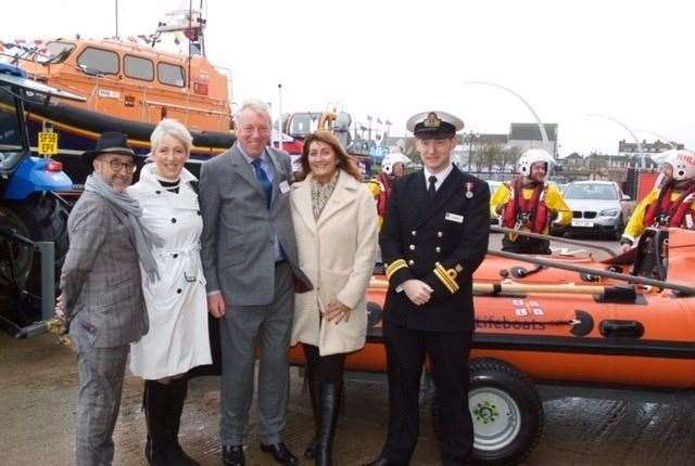 Robert Holland Funeral Directors have donated a lifeboat to RNLI Skegness and the wider RNLI. (22503071)