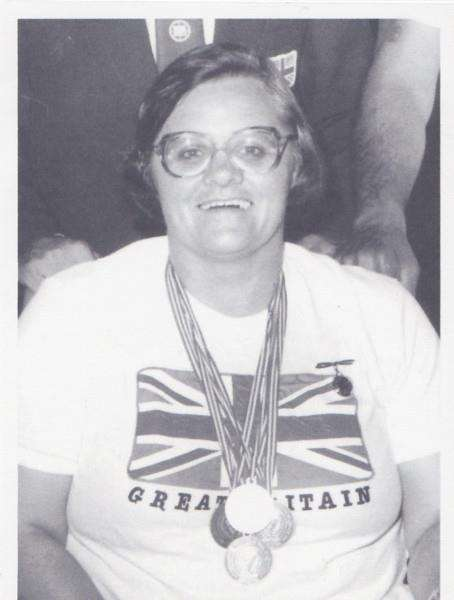 Irene Hotchin was a medal-winning disabled athlete.