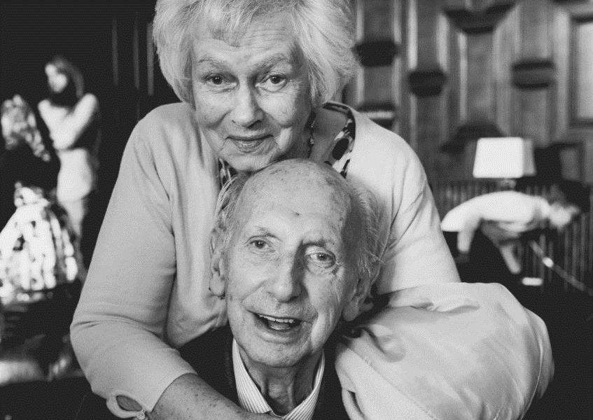 Geoff and Cecilia Winter, pictured last year.