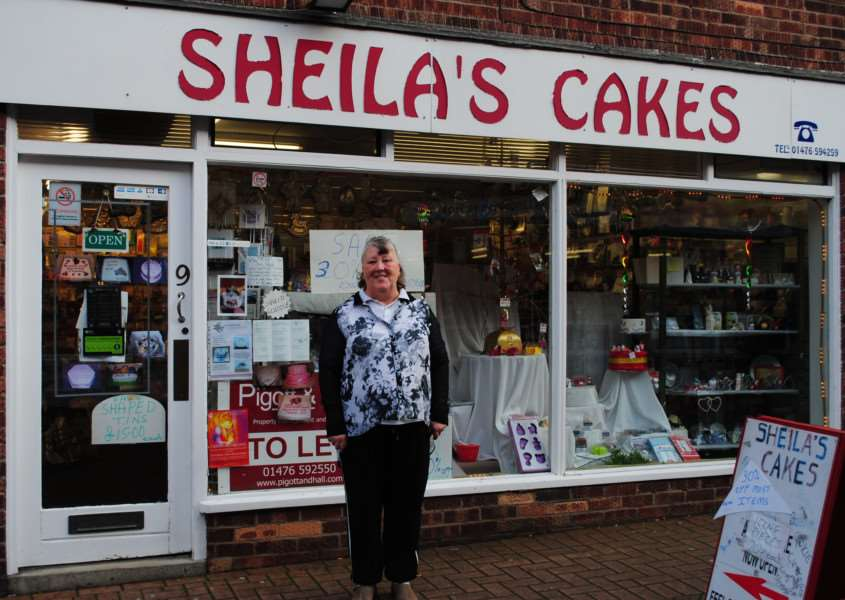 Sheila Rimmington outside her shop of 13 years on Welby Street.