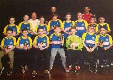 Gonerby Yellows under-12s