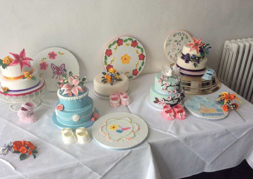 10 week sugarcraft course at Grantham college
