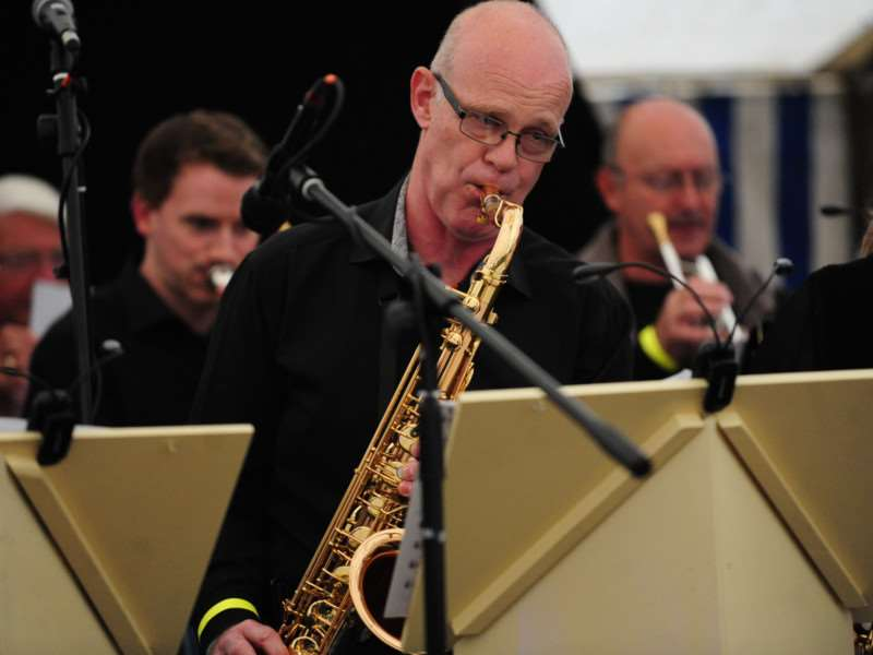 Grantham Rhythm and Blues Orchestra perform at Big Band Night. TRP-19-6-2015-371A (6)