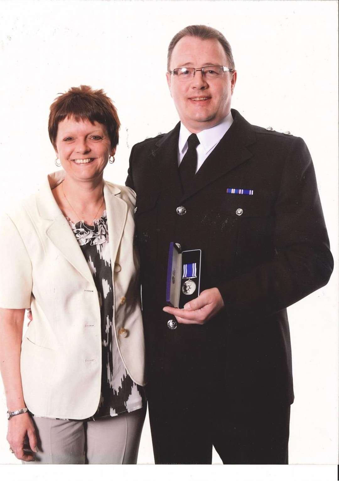 Nigel Storey with his wife Karen who sadly passed away in 2014. (4586878)