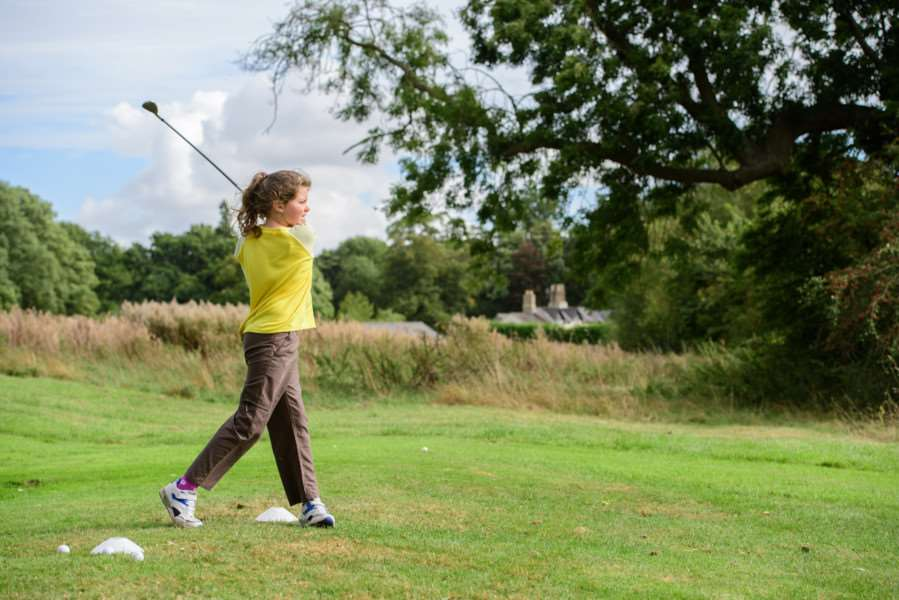 Golf Foundation's Girlguiding Day at Belton Woods Hotel.''Picture: Chris Vaughan Photography EMN-160928-154251001