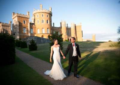 There has been a boost in bookings from couples wishing to tie the knot at Belvoir Castle.