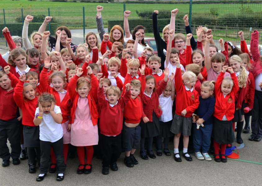 Pupils at Ingoldsby Academy are celebrating their recent Ofsted results.