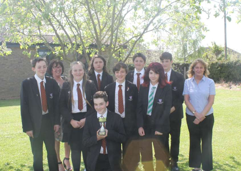Pupils from Charles Read Academy EMN-160518-122413001