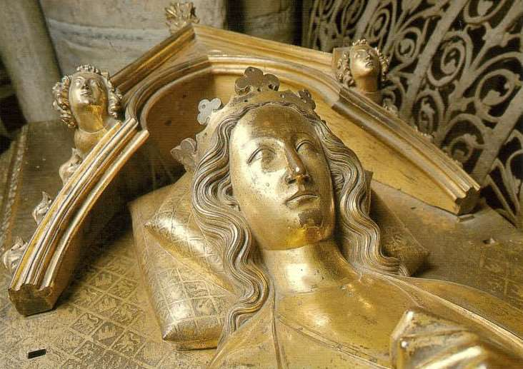 Queen Eleanor's tomb